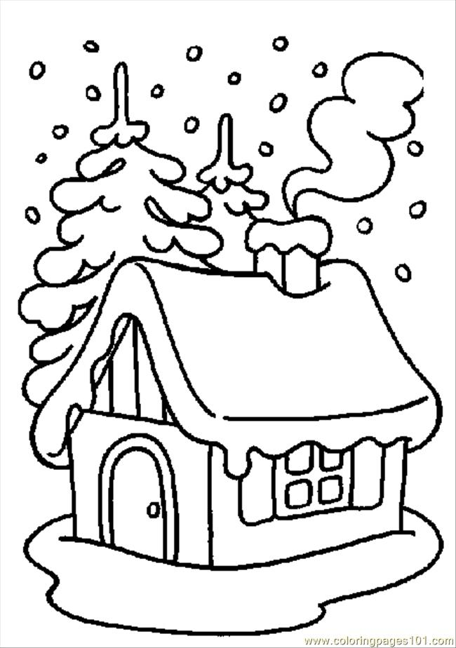 650x924 Winter Coloring Pages Printable Coloring Page Winter