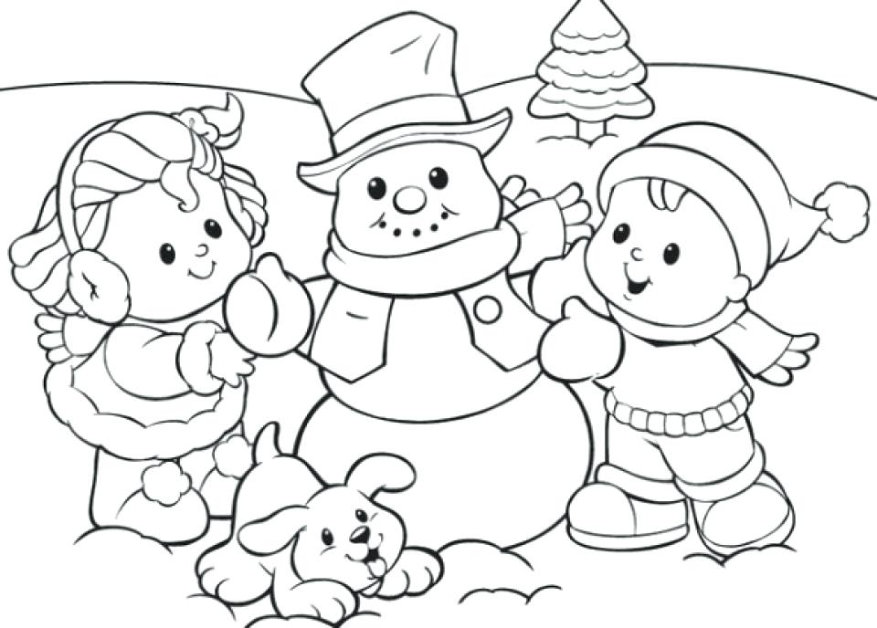 960x688 Winter Coloring Pages Winter Coloring Page Elegant Winter Coloring