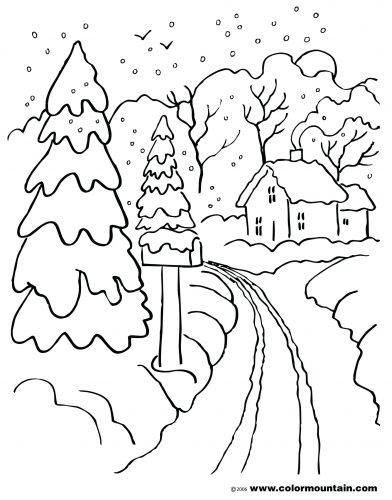 392x500 Coloring Pages Winter Coloring Pages Download Disney To Print