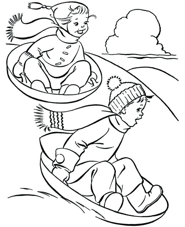 736x900 Printable Winter Coloring Pages Winter Free And Craft Free Winter