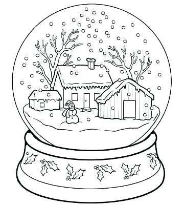 360x400 Winter Coloring Pages Free Winter Color Sheet Winter Fun Coloring