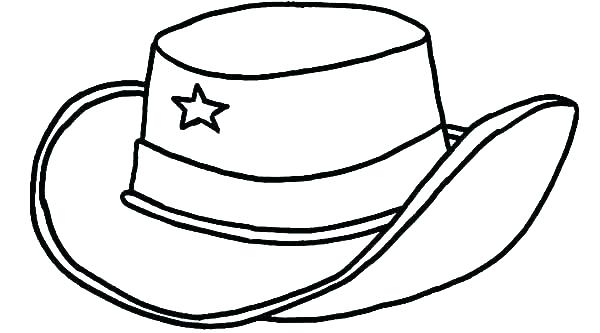 600x333 Hats Coloring Page Hat Coloring Page Santa Hats Coloring Pages