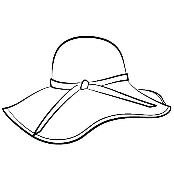 600x600 Cat In The Hat Coloring Page Winter Hat Coloring Page Coloring