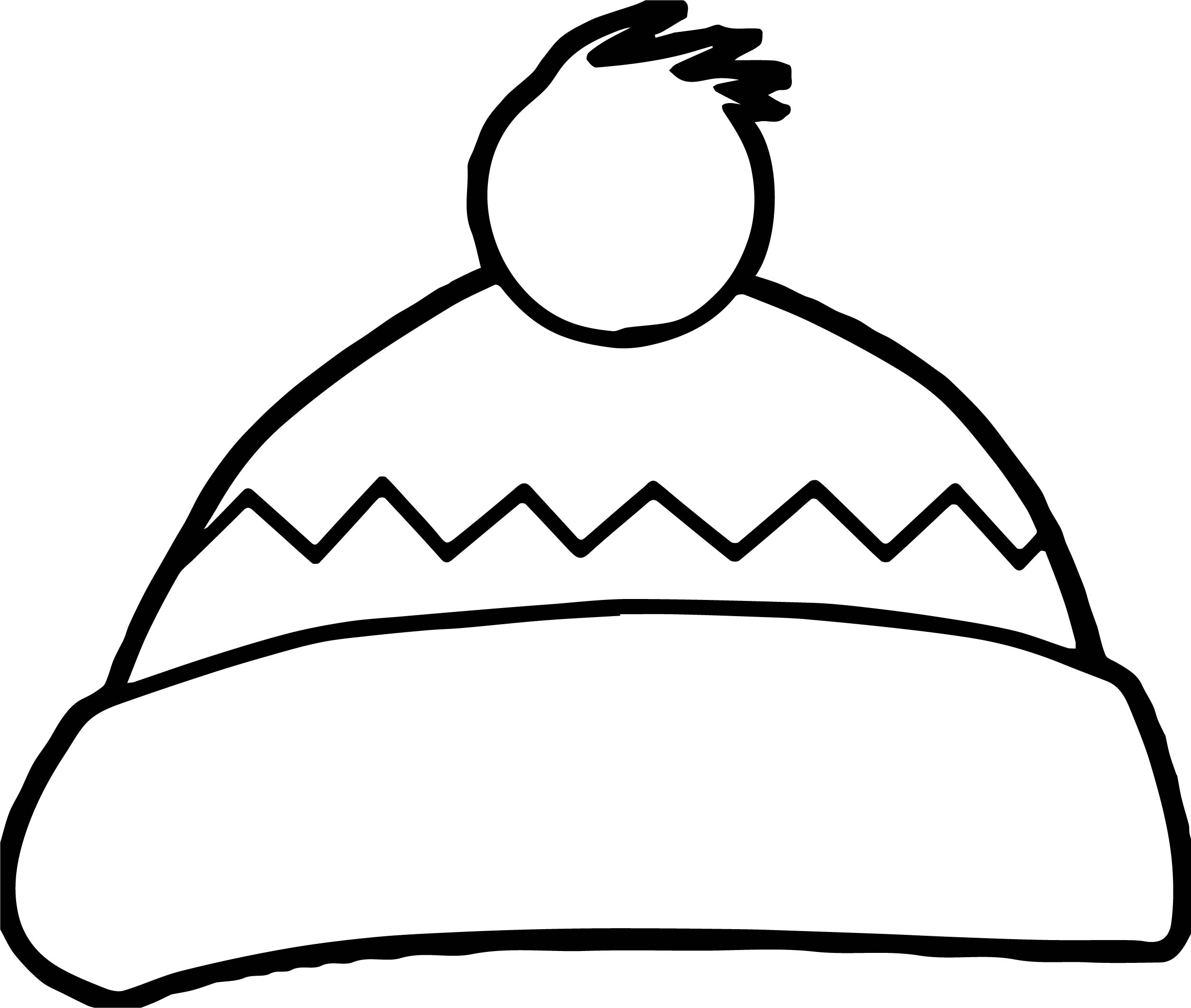 2507x2122 Winter Hat Coloring Page Myreview Me Incredible Template
