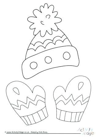 320x452 Winter Hat Coloring Page Pirate Hat Coloring Page Winter Hat