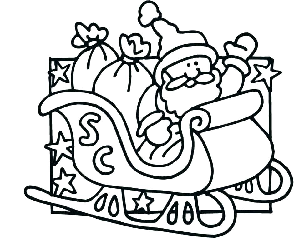 940x762 Winter Hat Coloring Page