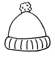 236x282 Winter Hat Template Winter Hat Coloring Page January