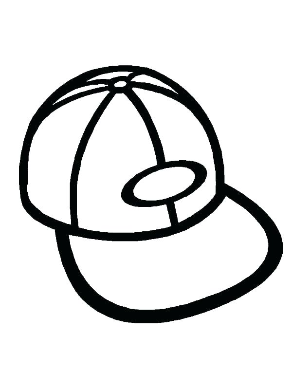 600x801 Hat Coloring Page The Cat In The Hat Coloring Page Color Winter