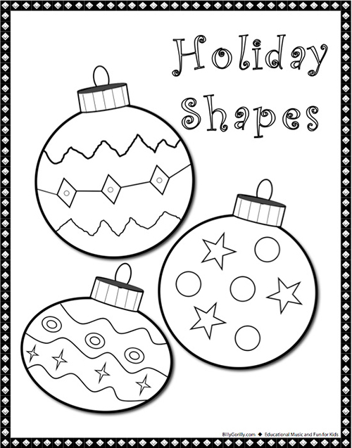 500x637 Winter Holiday Coloring Pages For Kids Sing Laugh Learn