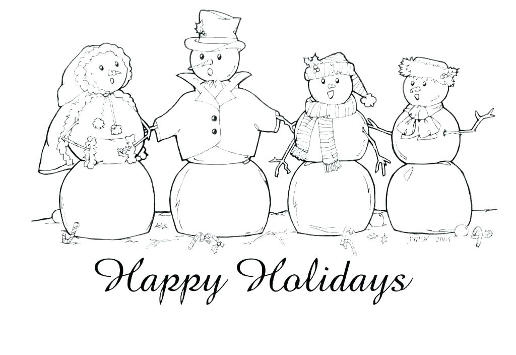 1024x704 Holidays Coloring Pages Winter Holiday Coloring Pages On Coloring
