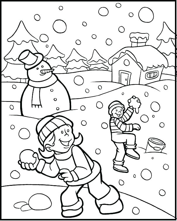 605x754 Winter Holiday Coloring Pages Printable Coloring Pages For Adults