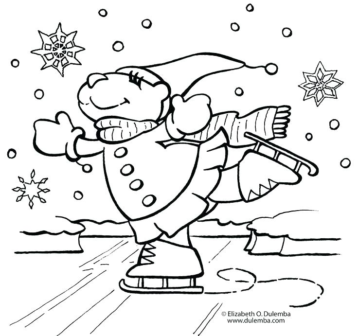 736x691 Winter Holiday Coloring Pages Winter Holidays Coloring Page