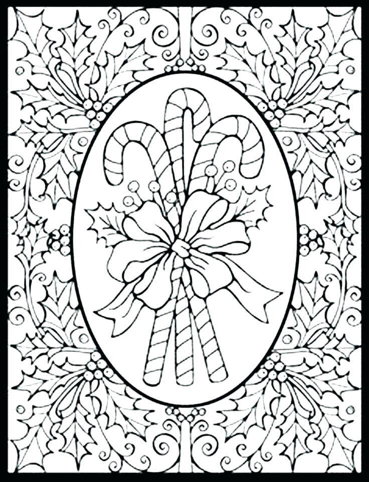 736x963 Winter Holiday Coloring Pages