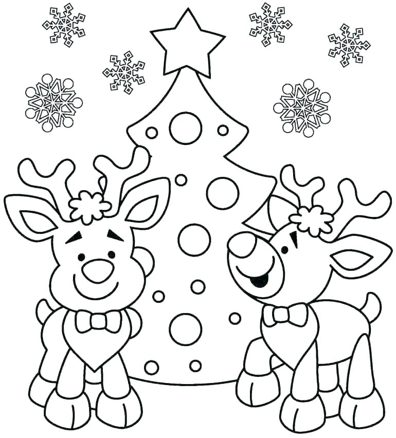 770x852 Winter Holiday Coloring Pages Winter Holiday Coloring Pages
