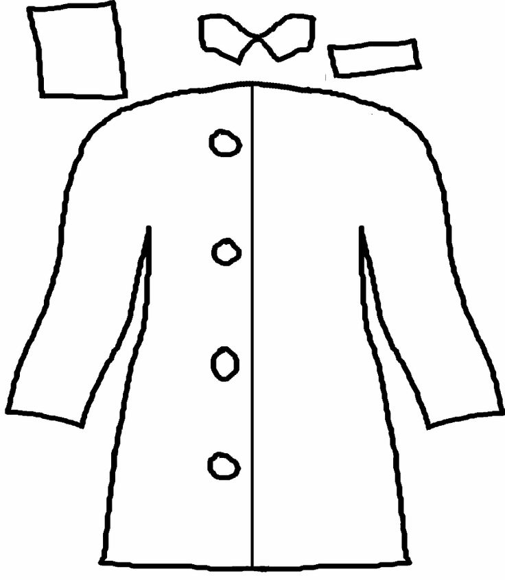 736x846 Jacket Coloring Pages