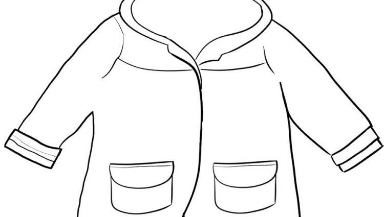 750x425 Coat Coloring Page Winter Jacket Coloring Page Winter Board