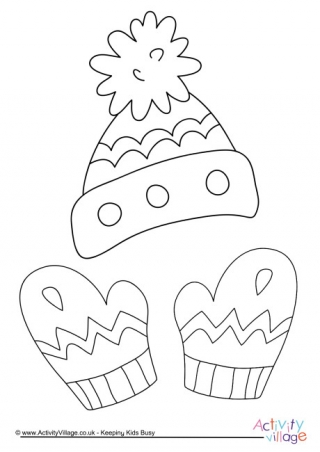 320x452 Clothing Colouring Pages