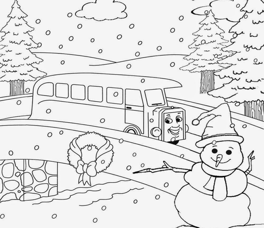 1000x864 Mountain Scenery Colouring Pages Fall Coloring Christmas Scenes