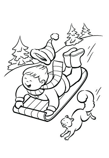 360x521 Top Free Printable Winter Coloring Pages Online Snowman Winter