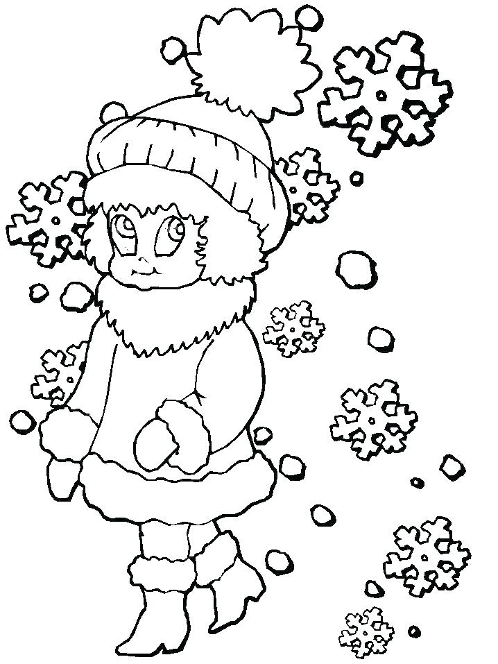 718x957 Winter Coloring Pages Free Free Printable Winter Coloring Pages