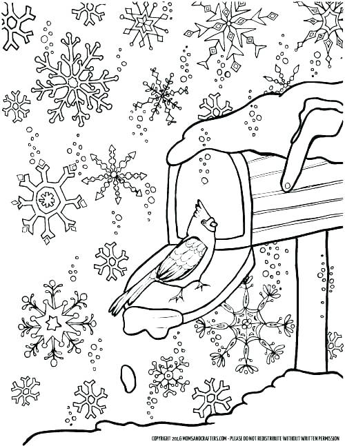 500x647 Winter Coloring Pages Free Winter Colouring Pages Kitty Color