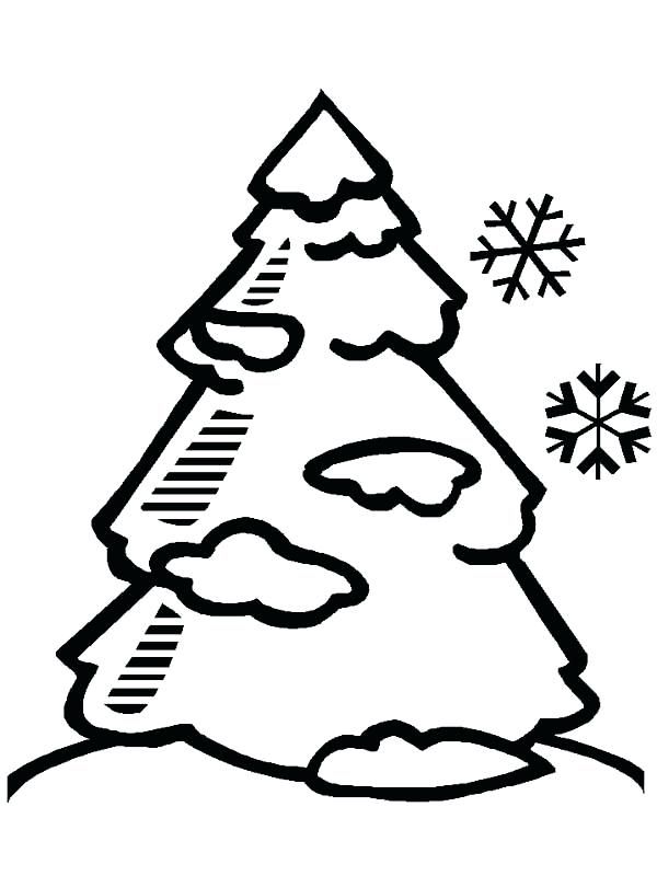 600x800 Kids Drawing Of A Tree At Free For Personal Use Winter Tree
