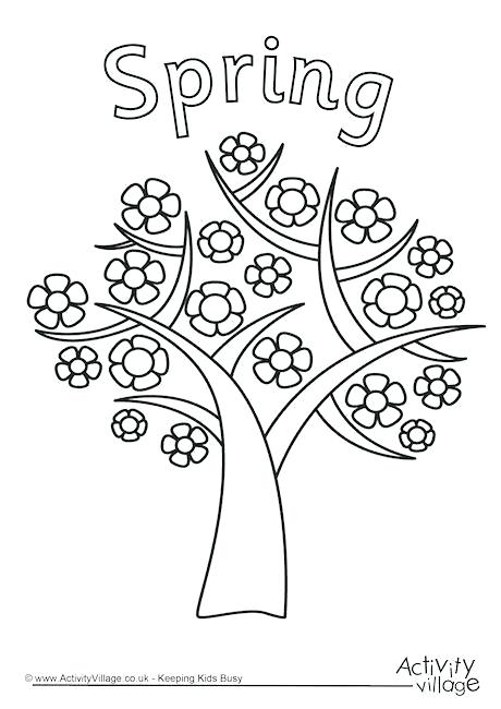 460x650 Best Trees Coloring Pages Images On Kids Net Coloring Picture Tree