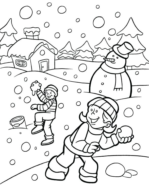 605x754 Scenery Coloring Pages Download Or Print These Amazing Scenery