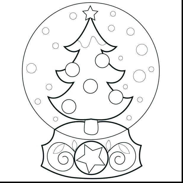 618x618 Snow Globe Coloring Page Snow Globe Coloring Pictures Winter