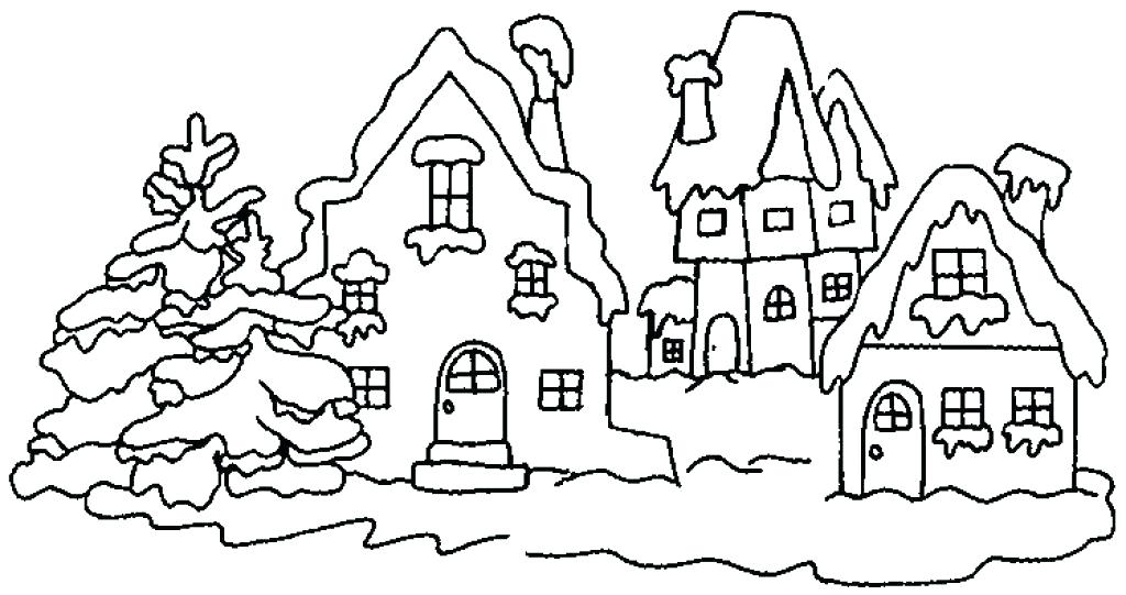 1024x541 Snow Globe Coloring Pages Snow Globe Coloring Pictures Winter