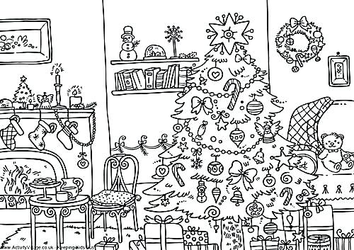 500x353 Activity Village Coloring Pages Winter Printable Coloring