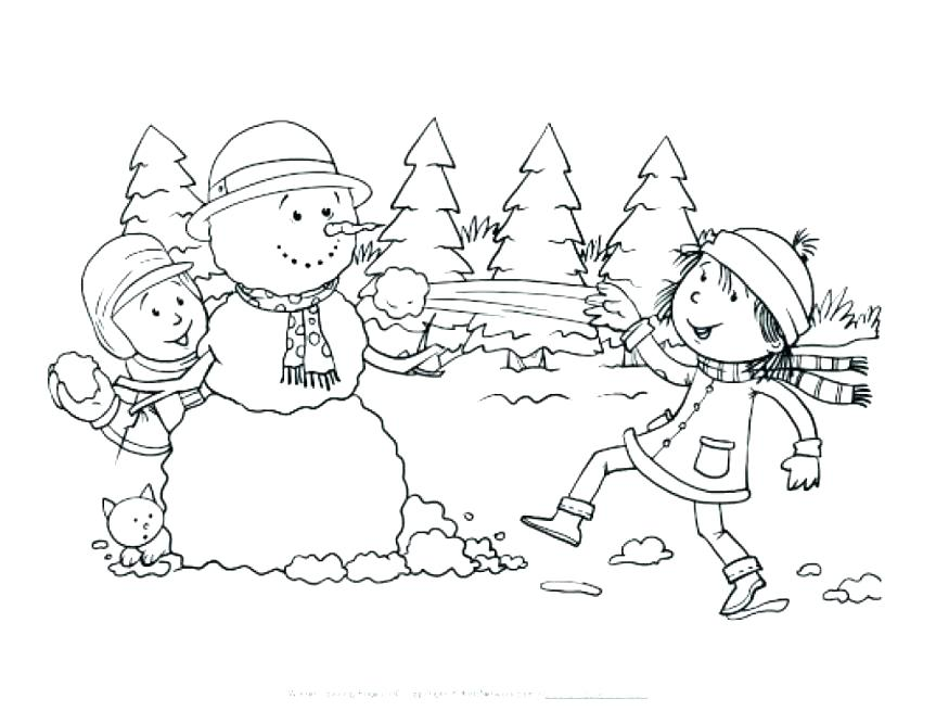 863x667 Winter Wonderland Coloring Pages Winter Wonderland Coloring Pages