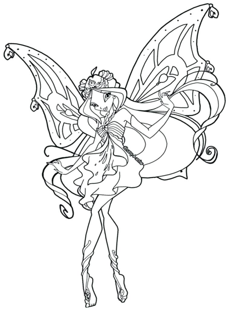 winx club bloomix coloring pages at getdrawings  free