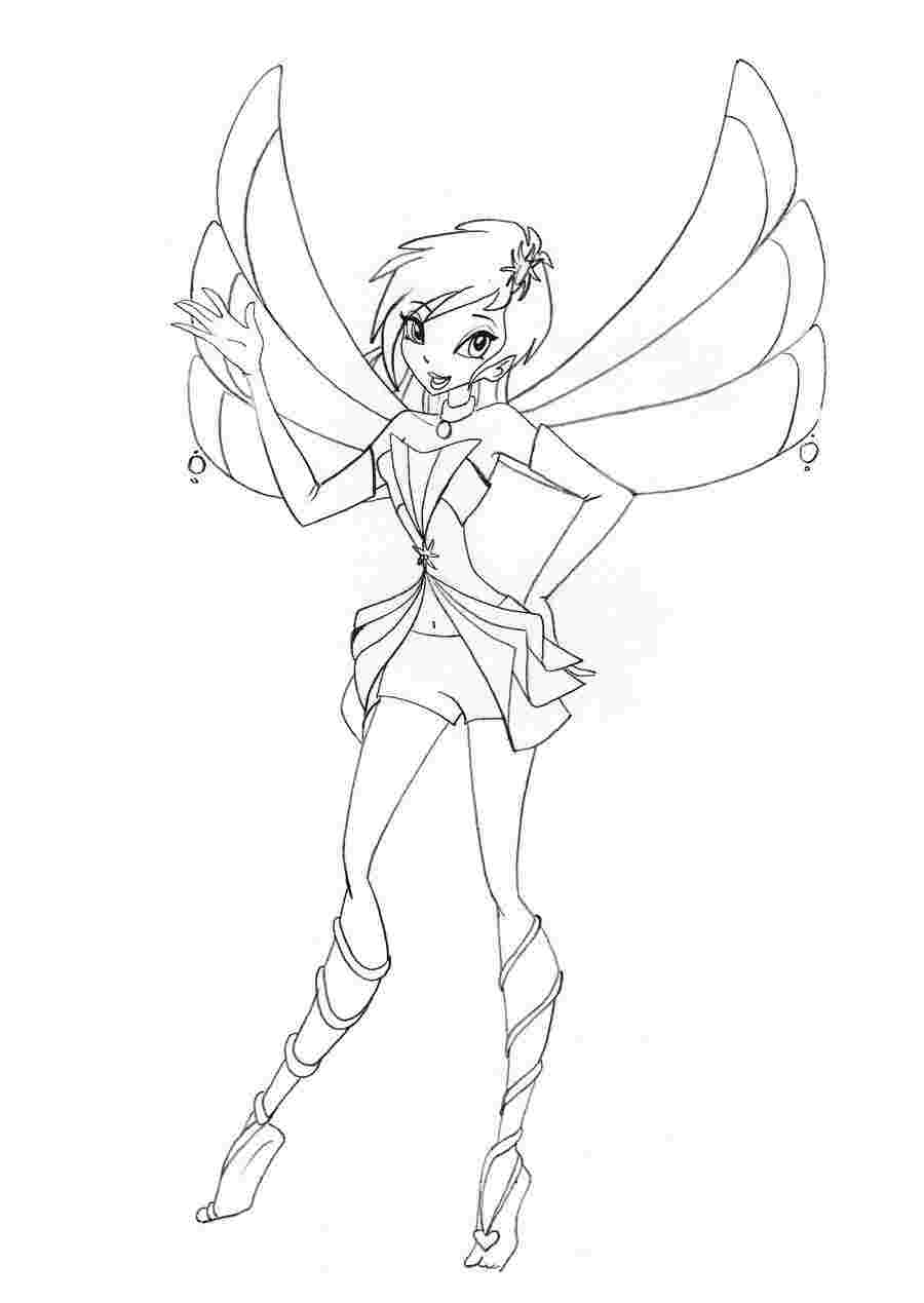 900x1269 Winx Club Coloring Pages Free Printable Coloring Pages For Kids