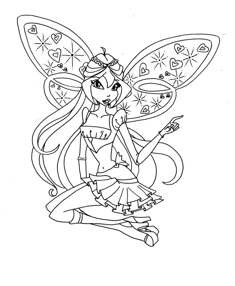 783x952 Club Coloring Pages Club Coloring Pages Winx Club Bloom Enchantix