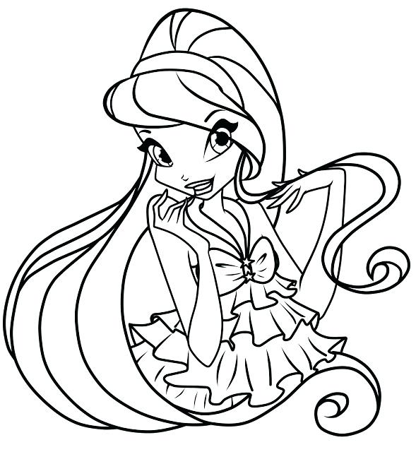 589x640 Winx Club Coloring Pages Bloom And Sky Club Coloring Pages Club