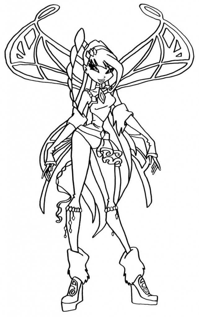 642x1024 Musa Winx Coloring Pages