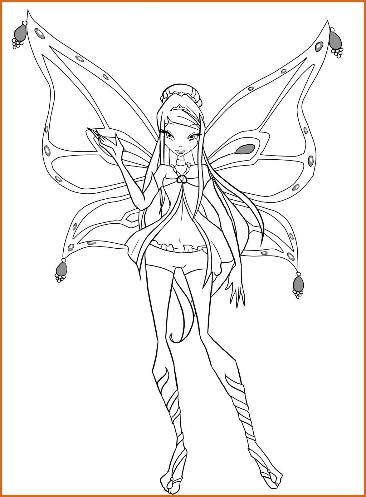 1173x1591 Astonishing Musa Winx Club Coloring Pages For Lovely Color