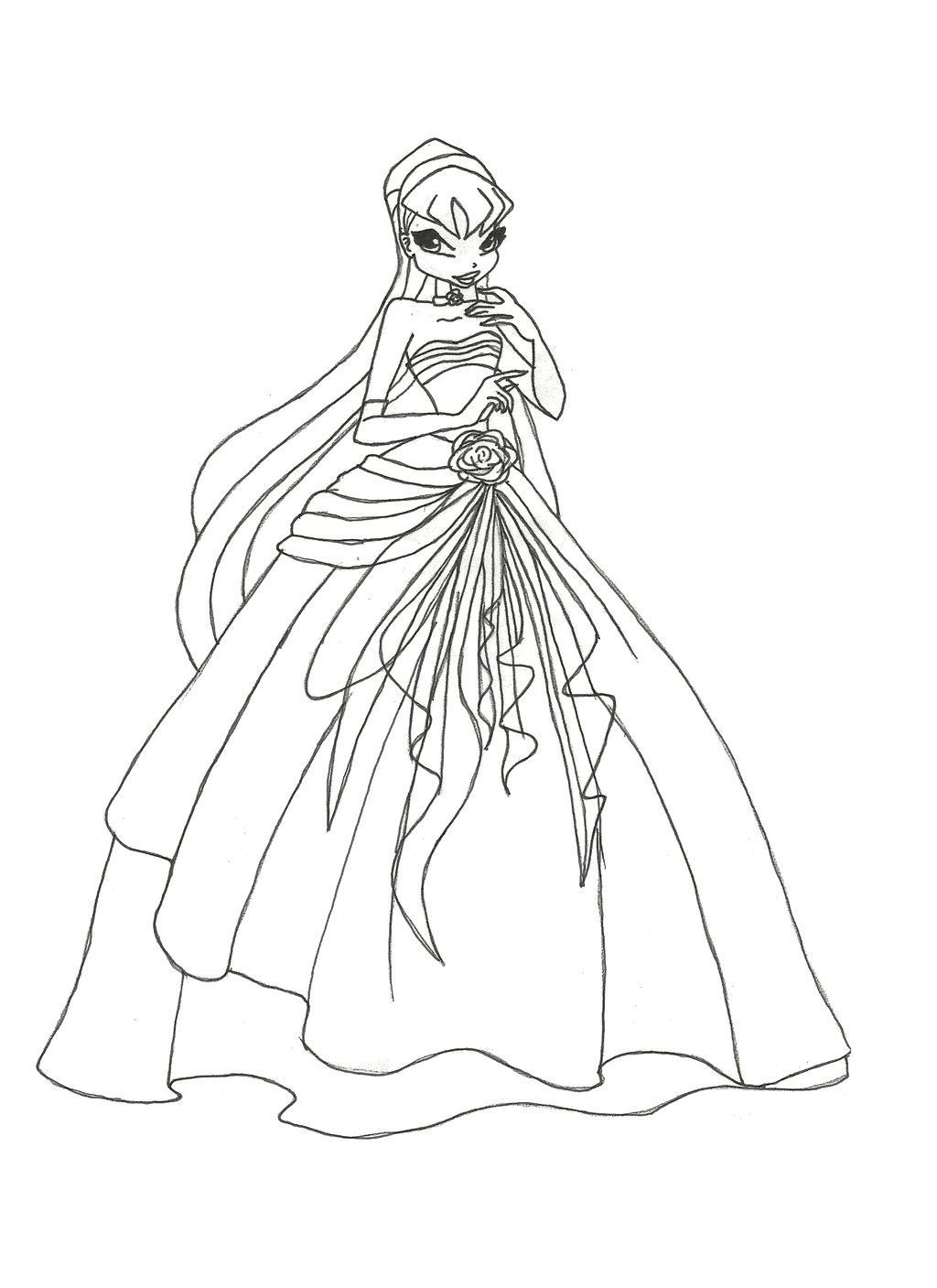 1024x1407 Awesome Film Winx Club Musa Coloring Pages Drawing Animations