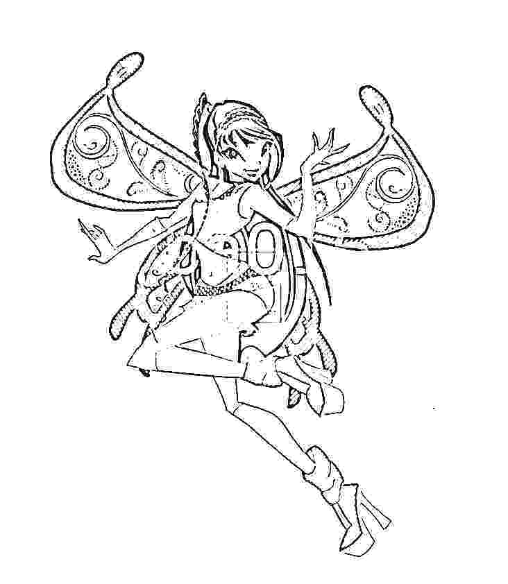 732x842 Cookies In Bloom On Winx Club Bloom Enchantix Coloring Pages