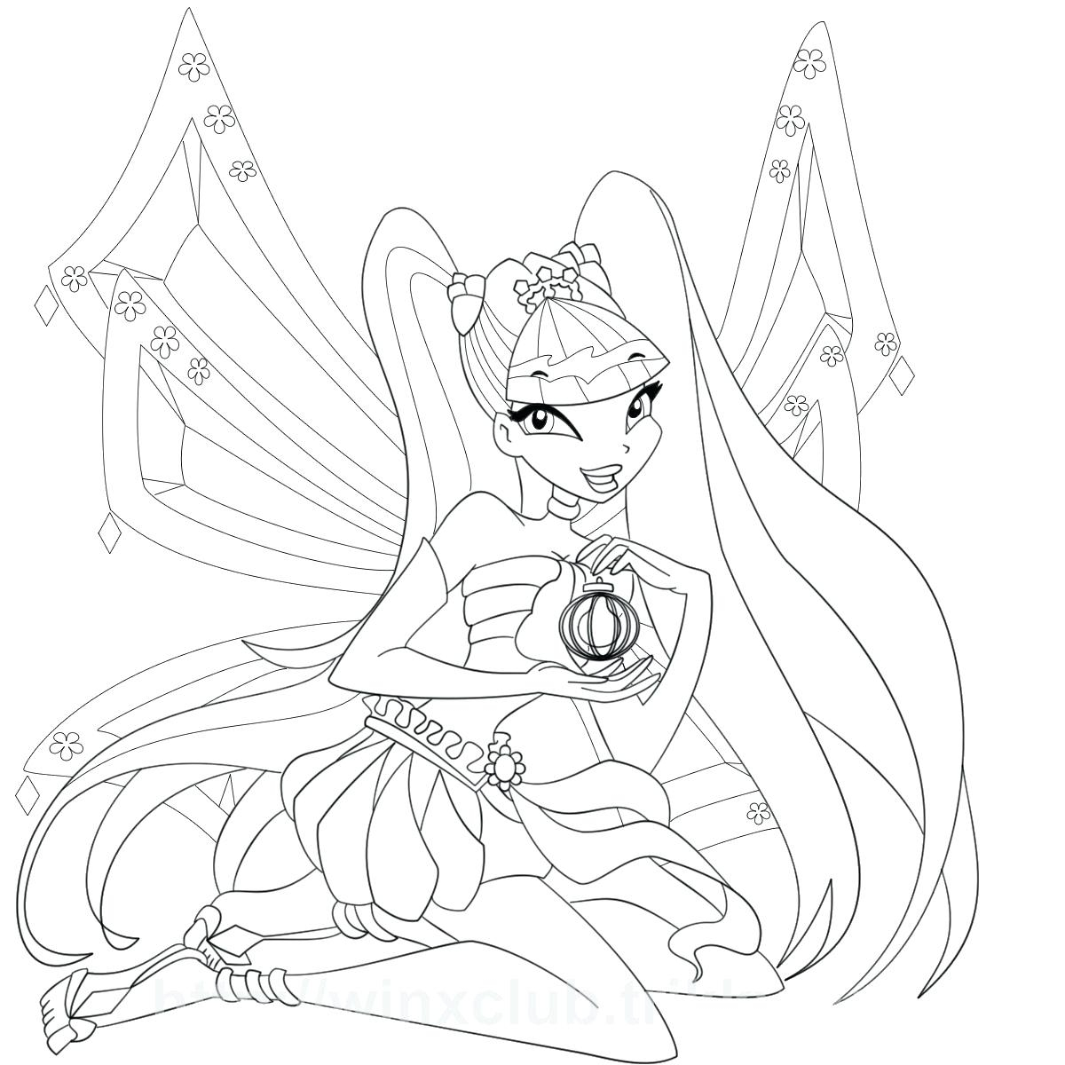 1200x1200 Cool Winx Club Coloring Pages Free Colouring Pages Free Coloring