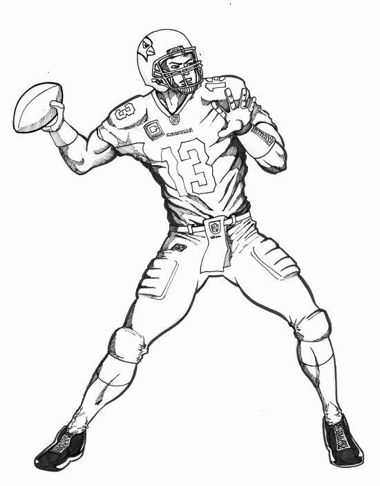 550x703 Football Coloring Pages Pics Trend Printable Football Coloring