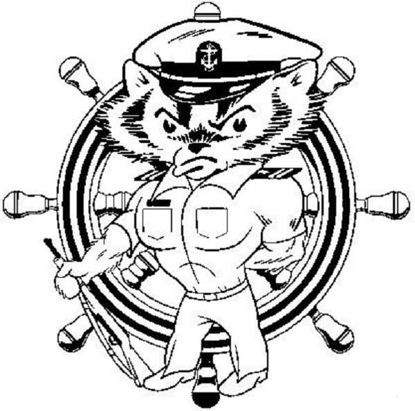 600x595 Bucky Badger Coloring Pages Coloring Pages Bucky