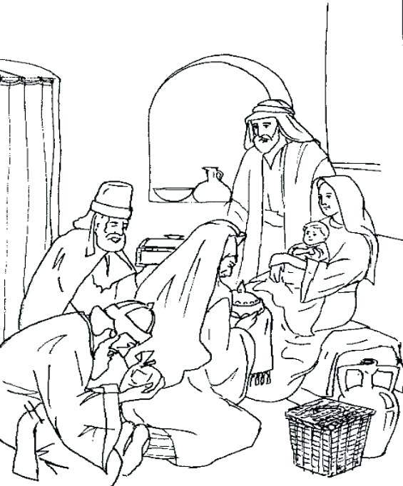 565x682 Wise Men Coloring Page Wise Men Worship Coloring Page Coloring