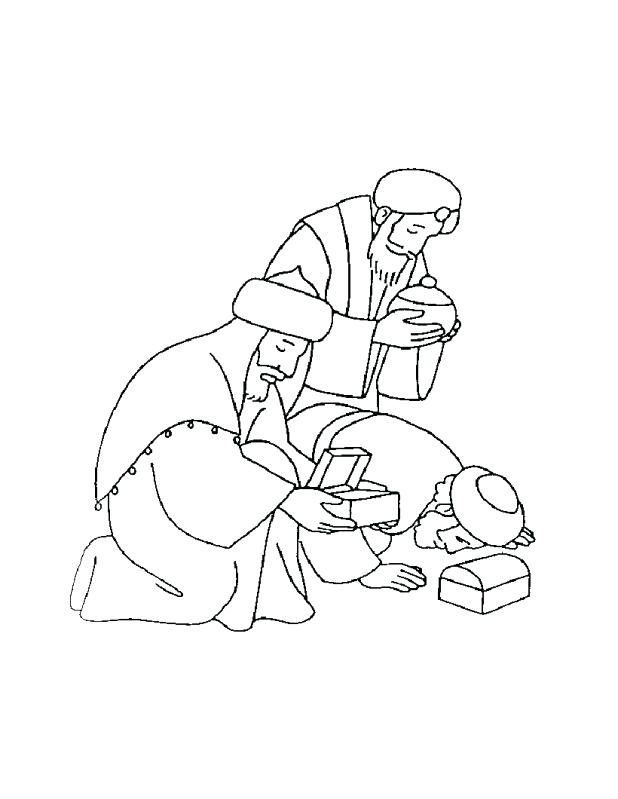 618x799 Wisemen Coloring Pages Free Printable Nativity Coloring Pages