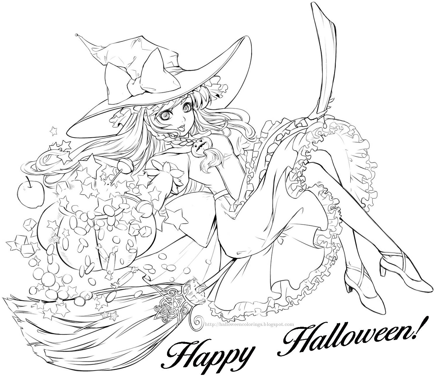 1488x1292 Halloween Colorings