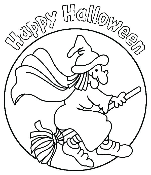 600x696 Witch Coloring Page Coloring Pages Of Witches Pleasant Idea Witch