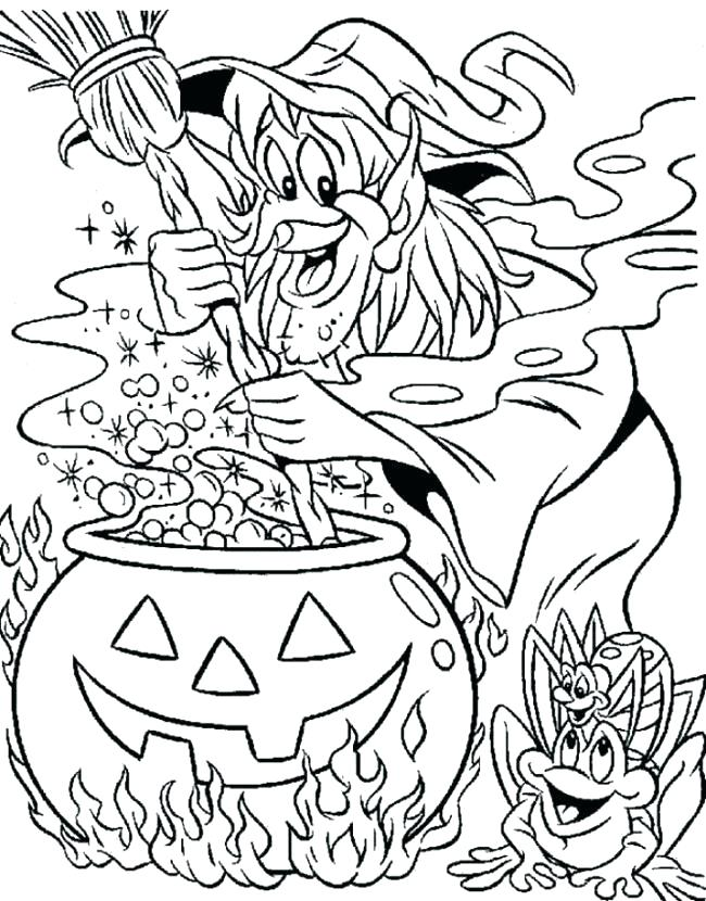 650x830 Witch Coloring Pages Witch Hat Coloring Pages Wicked Witch