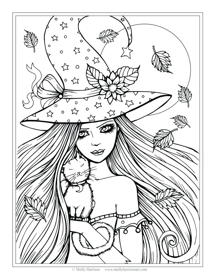 736x952 Witch Coloring Pages Witches Coloring Pages Coloring Pages