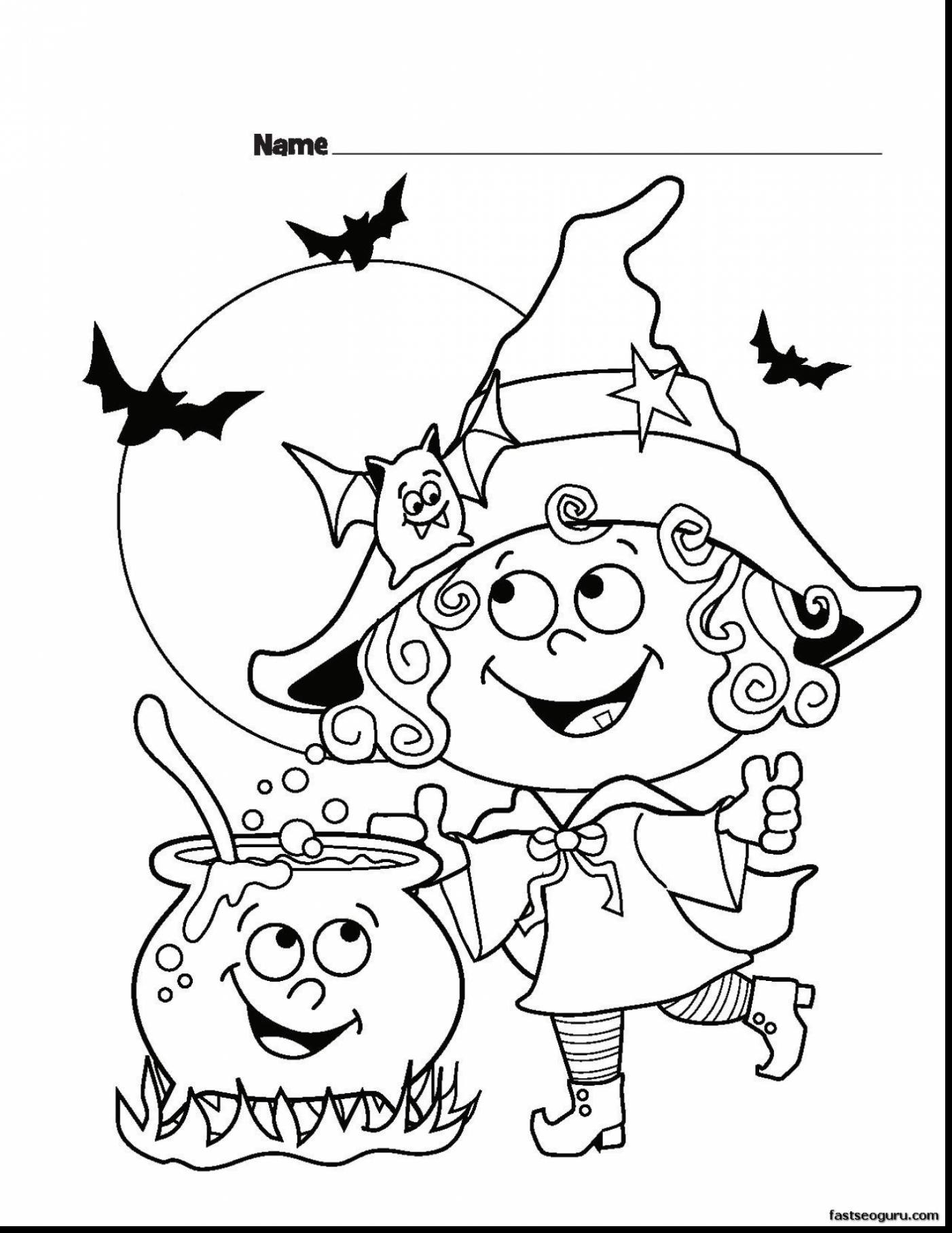 1402x1815 Amazing Halloween Witches Coloring Pages Printable With Witch